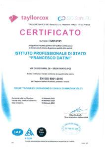 logo certificato corsi